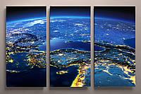 Модульная картина космос 90х60