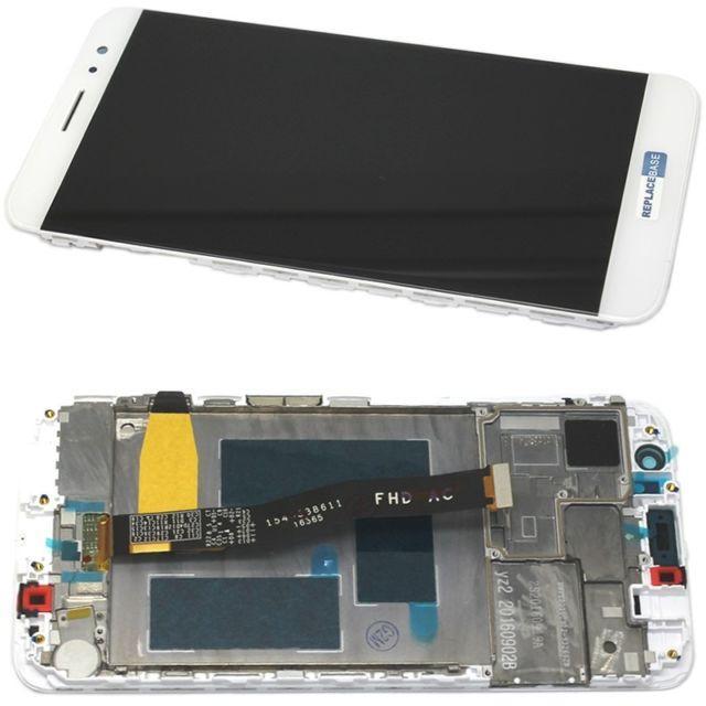 Дисплей для Huawei Nova (CAN-L01/CAN-L11) с тачскрином и рамкой белый Оригинал