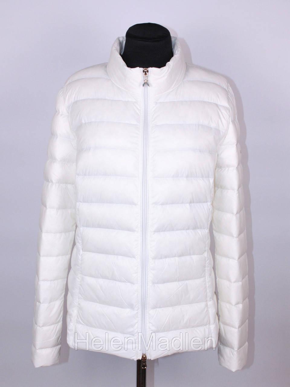 1517eae1b9a Patrizia Pepe белая женская пуховая куртка демисезон 46