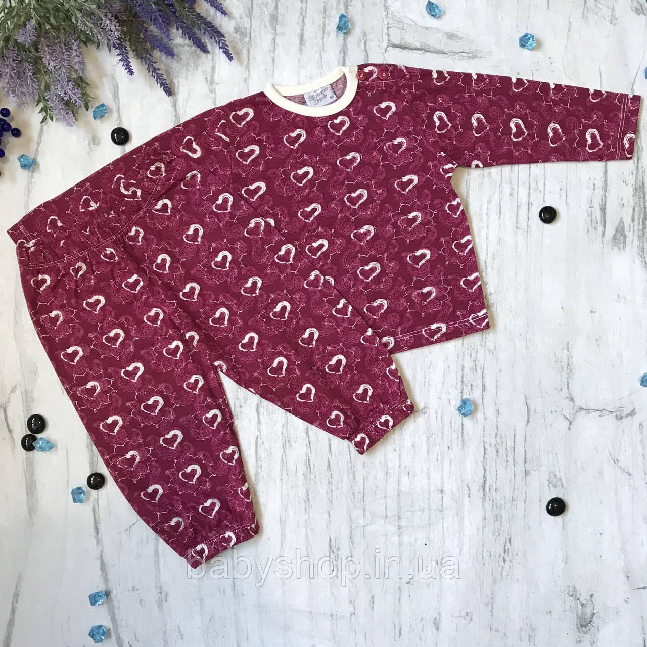 Детская пижама Breeze для девочки. Размер 86, 92, 98, 104 см