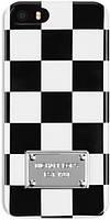 Чехол Michael Cors для iPhone 4/4S, бело-черный (оригинал)
