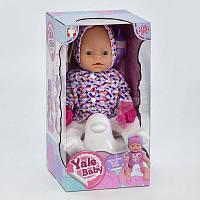 Пупс функциональный Yale Baby,5 видов, пьет, ходит на горшок, фото 1