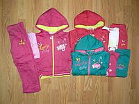 Трикотажный утепленный костюм для девочек оптом, Sincere 6/12-36 рр., фото 1