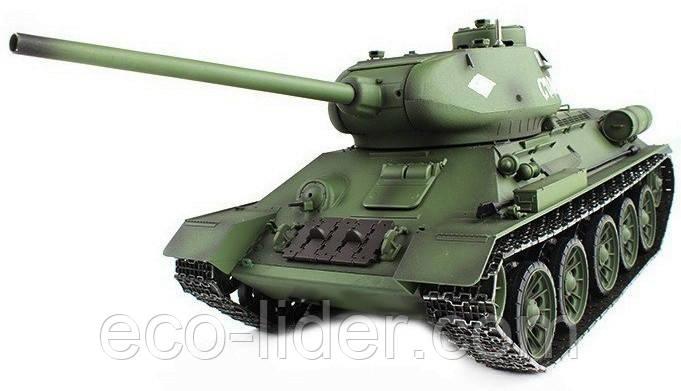 Танк р/у 2.4 GHz 1:16 Heng Long T-34 з пневмопушкой і димом (HL3909-1)