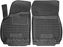 Полиуретановые передние коврики в салон Opel Zafira C (5 мест) 2011-2018 (AVTO-GUMM)