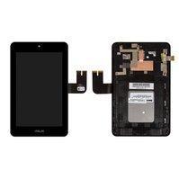 Дисплей с тачскрином Asus ME572 MeMO Pad 7 (K007) черный в рамке