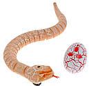 Змія з пультом управління ZF Rattle snake (коричнева), фото 2