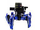 Робот-павук радіокерований Keye Space Warrior з ракетами і лазером (синій), фото 2