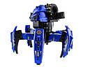 Робот-павук радіокерований Keye Space Warrior з ракетами і лазером (синій), фото 3