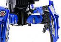 Робот-павук радіокерований Keye Space Warrior з ракетами і лазером (синій), фото 4