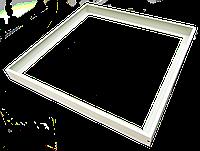 Рамка для светодиодных панелей 600х600, фото 1