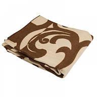 Шерстяное одеяло с принтом 190х205