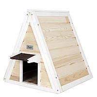 Дерев'яний будиночок для кішки, фото 1