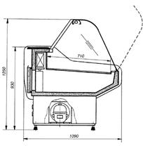 Холодильная витрина Cold W-18 SG, W-20 SG II K бу, фото 2