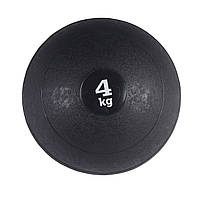 Медбол SportVida Medicine Ball 4 кг Black, фото 1