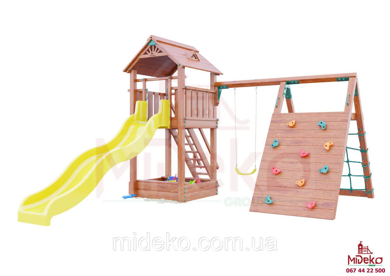 Детская площадка MIDEKO M 150 с качелью и лазом