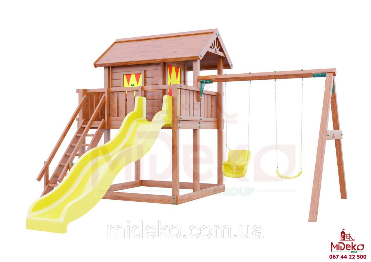Детская площадка MIDEKO XL 150 с двойной качелью