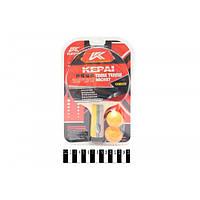 Теніс настільний KEPAI ( 1 ракетка +2 мячики ) блістер KP-1001 a787dd5d95ab7