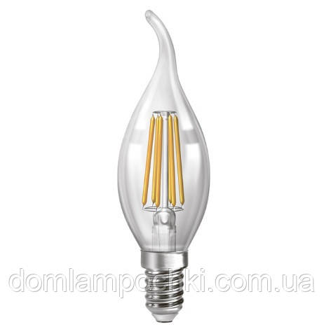 Лампа Светодиодная филаментная свеча на ветру   NX6СWF - E14  3000k/4200k