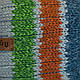 ОПТ Детский комплект - шапка и шарф для мальчика, 48-50 (5шт/набор), фото 6