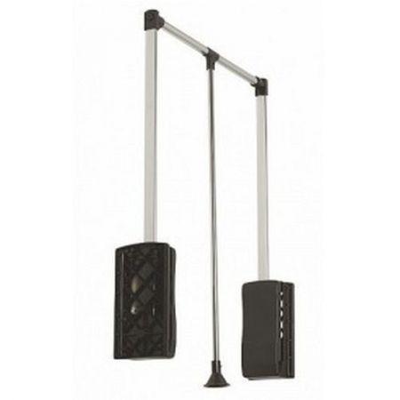 Лифт гардеробный (пантограф) 450-630 мм с диодной подсветкой
