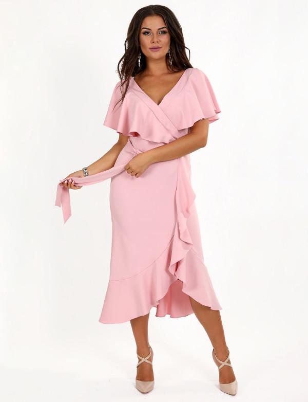 Плаття  жіноче рожеве вечірнє ENIGMA MKENG 3080 А