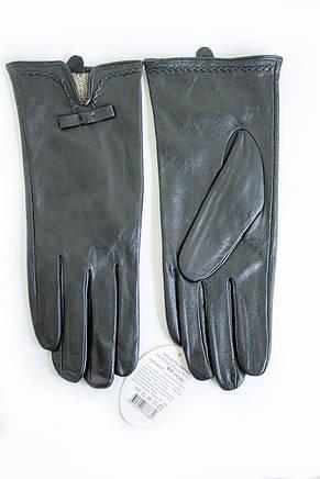 Женские кожаные перчатки Кролик Сенсорные 2-339, фото 2