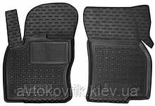 Полиуретановые передние коврики в салон Skoda Karoq 2018- (AVTO-GUMM)