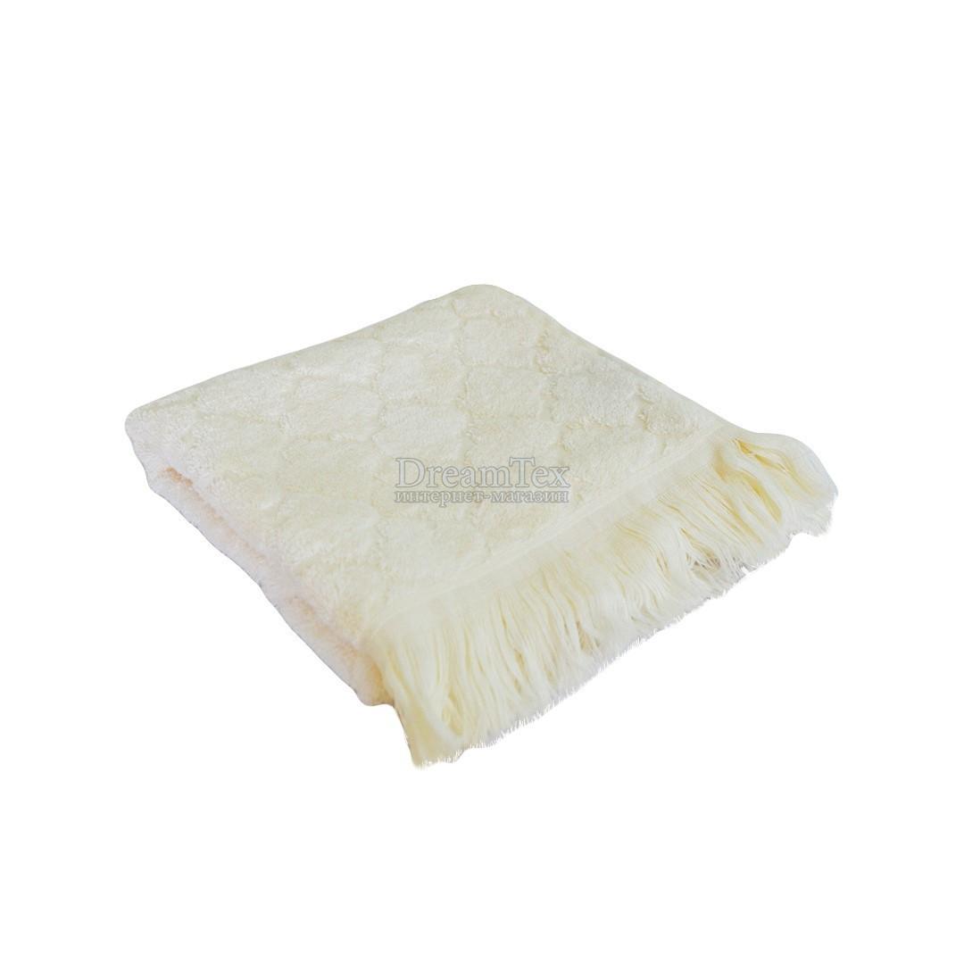 Полотенце банное махровое бамбуковое Прованс 70х140 см (005890) Серый