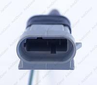 Разъем электрический 3-х контактный (27-17) б/у