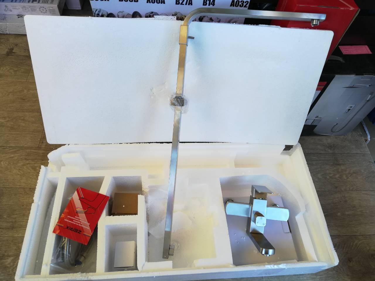 Душевая программа Shower pipe cube 01