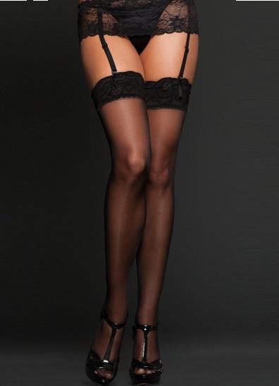 67e2092e55f97 Черные капроновые чулки 20 den Ч-704 - KORSETOV - Магазин женской одежды и  белья