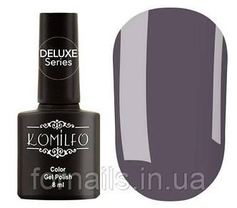 Гель-лак Komilfo Deluxe Series Dusk Collection №D293 (светлый серо-фиолетовый, эмаль), 8 мл
