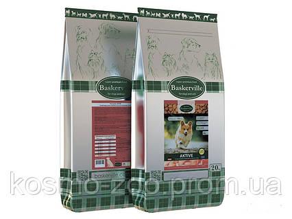 Сухой корм для активных собак Baskerville Aktiv, 20 кг