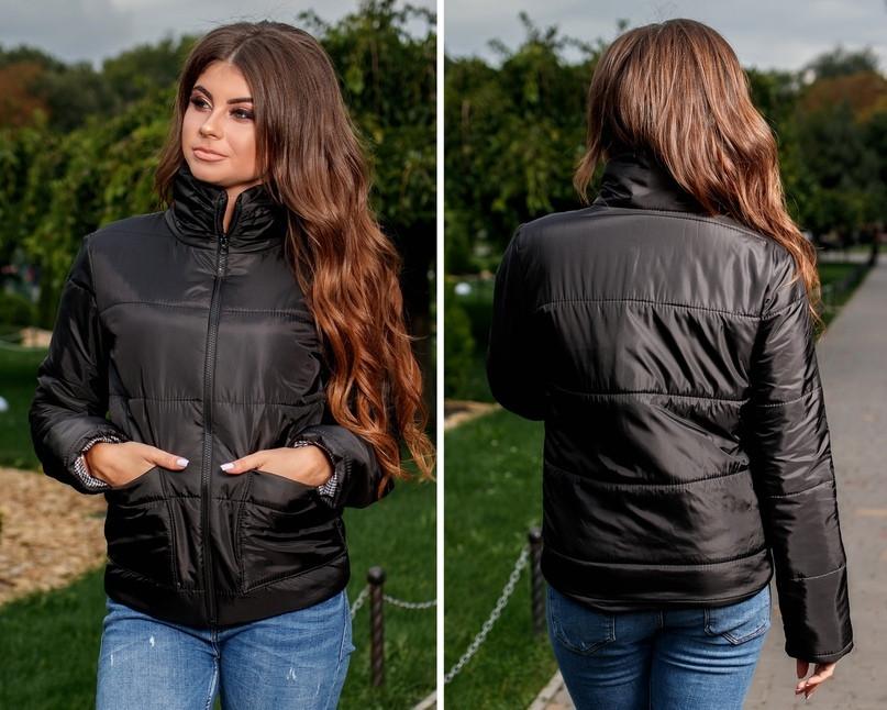 4aa747e4997 Стильная женская куртка весна   осень синтепон 150  продажа