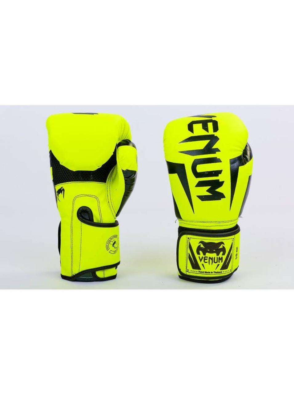 Детские боксерские перчатки в стиле VENUM BO-5698-L - размер 8 унц.
