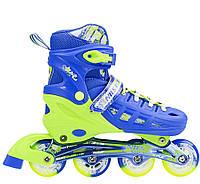 Роликовые коньки Nils Extreme NA1005A Size 35-38 Blue, фото 1