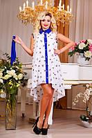 Легкое летнее платье рубашка Д-1564