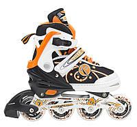 Роликовые коньки Nils Extreme NA1152A Size 31-34 Orange, фото 1