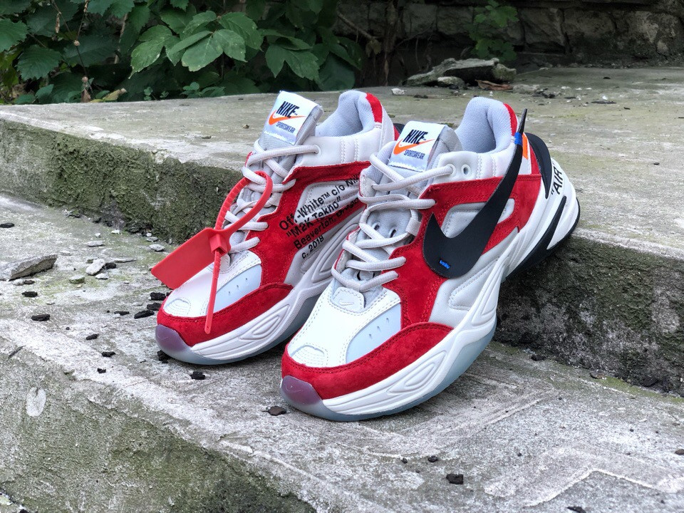 newest bd4da 2ce99 Кроссовки OFF,WHITE x Nike M2K Tekno топ реплика ...