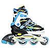 Роликовые коньки Nils Extreme NA1160A Size 35-38 Black/Blue