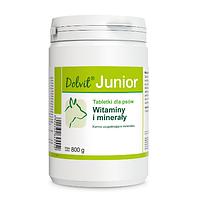 """Вітаміни і мінерали для правильного розвитку м'язової маси у цуценят """"Dolvit Junior"""" 800г., Dolfos™"""