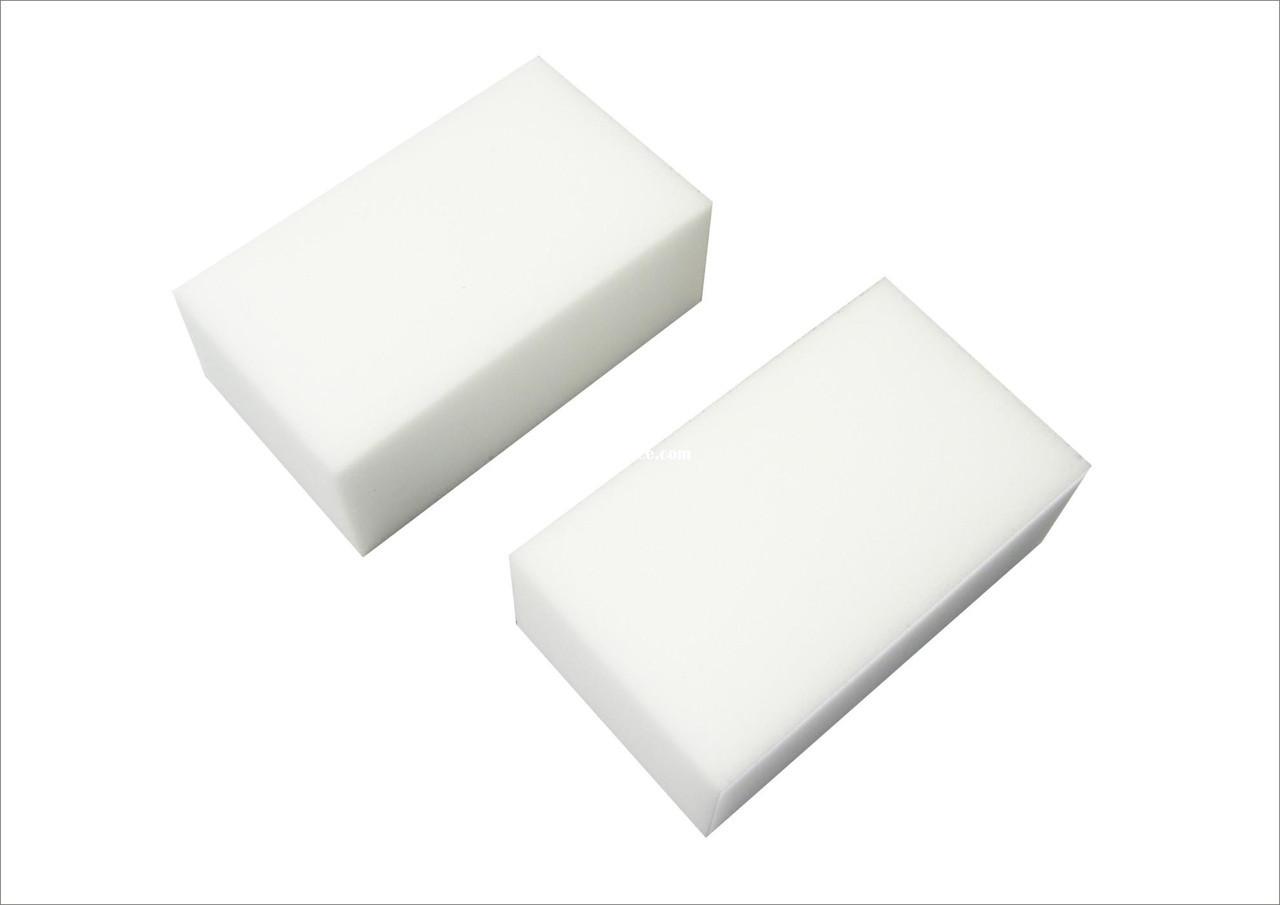 Меламиновая губка, чистка без химии 10х6х1,5см