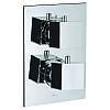 Смеситель-термостат для ванны и душа встроенный Jaquar Kubix на 2 выхода