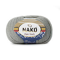 Nako Pure Sock (Нако Пуре Сок) 70% - шерсть супервош, 30% - полиамид 3298
