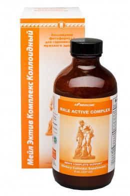 Лечение импотенции и предстательной железы . Мэйл Эктив Комплекс - 19 растительных веществ.