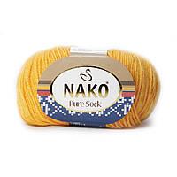 Nako Pure Sock (Нако Пуре Сок) 70% - шерсть супервош, 30% - полиамид 3416