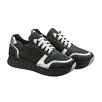 Зеленые кожаные кроссовки на толстой подошве размеры 37 912f603a033f9