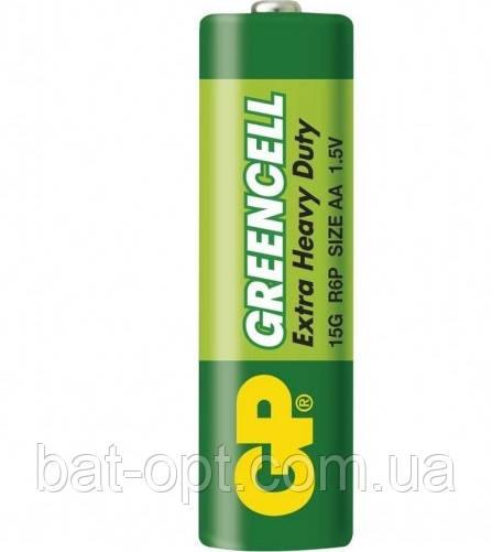 Батарейка GP 15G-S2 Greencell R6 AA (трей)