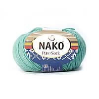 Nako Pure Sock (Нако Пуре Сок) 70% - шерсть супервош, 30% - полиамид 6646
